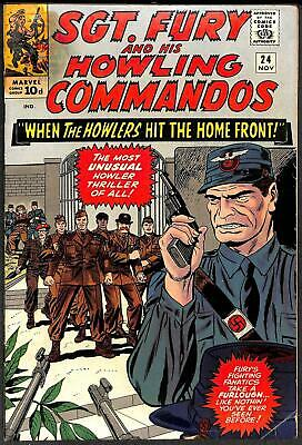 Sgt. Fury and His Howling Commandos #24 VG+