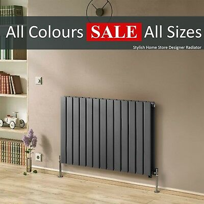 Horizontal Flat Modern Designer Radiator Column Panel Central Heat SimpleHome™