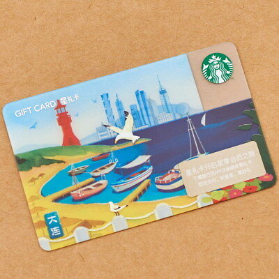 New Starbucks 2018 China DaLian Gift Card Pin Intact-The sister city of Bangkok