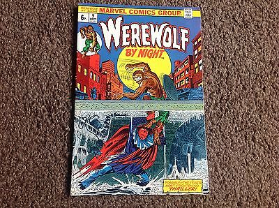 Werewolf By Night 9, Sept 1973, Marvel, Fn / Vf