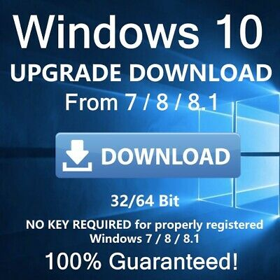 Upgrade Your Windows 7 & 8 to Windows 10 Download-able No Need to Wait 3-5 Days