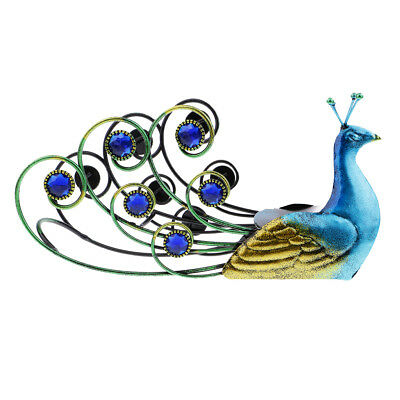 Stainless Steel Peacock Model Wine Rack Wine Bottle Display for Bar/Party