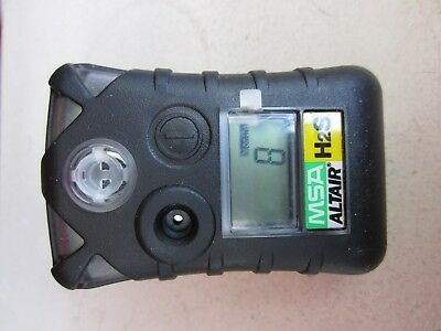 Msa Altair Single-Gas Detector For H2S, Pre-Owned, 8 Months Left