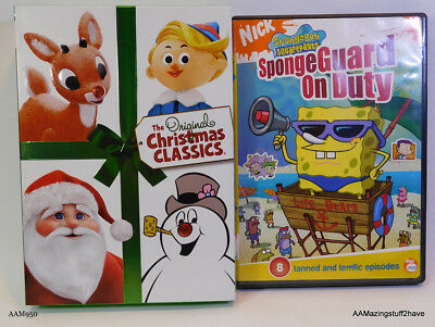the original christmas classics spongebob squarepants dvds free shipping - Christmas Classics Dvd