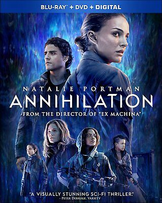 ANNIHILATION (Natalie Portman)  - Region free - BLU RAY - Sealed