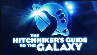 The Hitchhiker's Guide To The Galaxy Audio Books Mp3 Cd - All 5 Parts