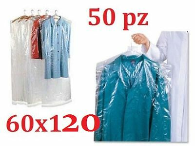 BAGS DRESS COVER COAT PU 60 X 120 LAUNDRY, DYEING, IRONING 50 pieces