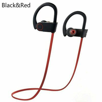Sports Sweatproof Headphones Wireless Bluetooth Headset Earphone Stereo Earbuds