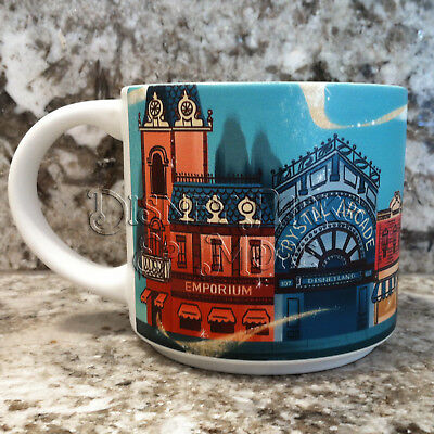 Disney Parks WonderGround Gallery Disneyland Main Street West Mug by Ann Shen