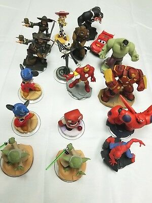 Disney Infinity Characters Pick Your Own Hulkbuster Skellington Spider-Man
