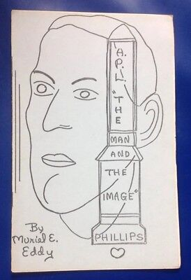 Muriel E. Eddy - H.P.Lovecraft: The Man and the Image,  1st ed booklet, 1969