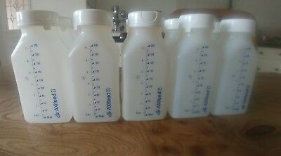 Axifeed breast milk storage bottles 10 x 200ml