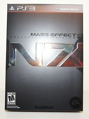 New! Mass Effect 3 [N7 Collector's Edition] (Sony PlayStation 3, 2012)