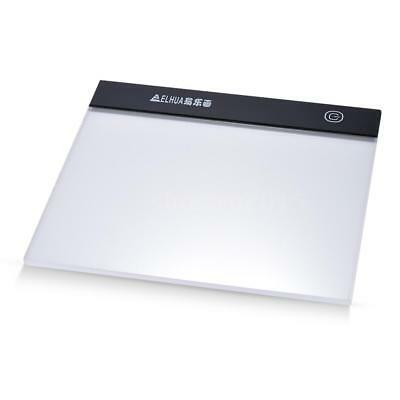 Ultrathin Digital Tablet A5 LED Drawing Board Light Box Tracing Table Pad M9J6