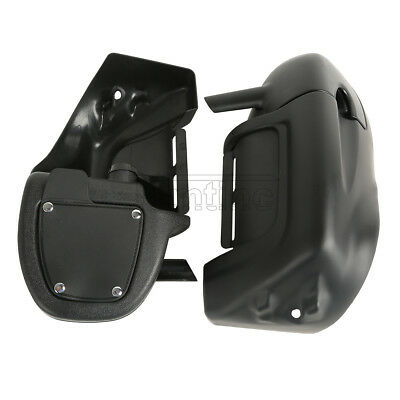 Lower Vented Leg Fairing For Harley Road King Street Electra Glide Ultra Classic
