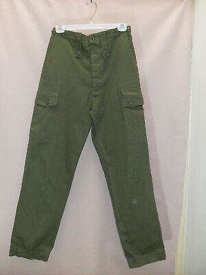 1980's Vintage High Waisted Army Pants.