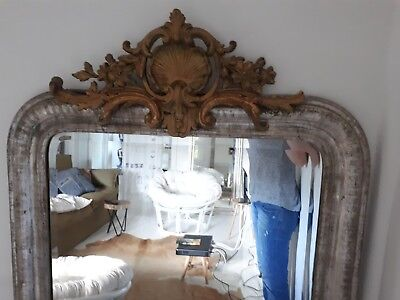 ~ Have you seen this one yet? ~ Silver Bevelled Mantel Mirror French