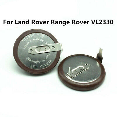 Original For Land Rover Range Rover VL2330 Battery 3V 50mAh Rechargeable Key Fob