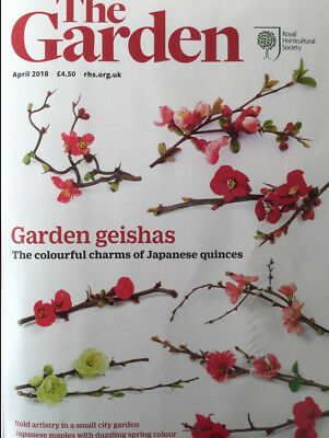 RHS New the Garden Magazine April 2018 unopened