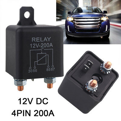 Durable Automotive Preheat Relay High Current Relay Heavy Duty Automotive