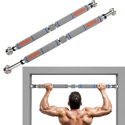 OneTwoFit Adjustable Heavy Duty Chin Pull Up Bar Exercise Fitness Gym Home OT033