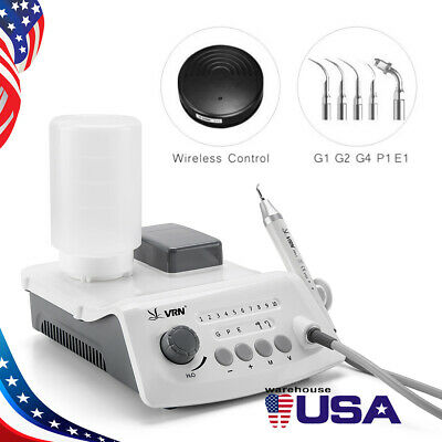 VRN-A8 LED WIRELESS CONTROL Ultrasonic Scaler With LED Detachable Handpiece