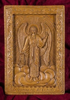 Guardian Angel Aromatic Greek Christian Beeswax Plaque Icon Gift Mount Athos