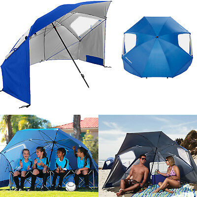 Outdoor Beach Umbrella Canopy Sun Shade Protection Portable Camping Tent Shelter