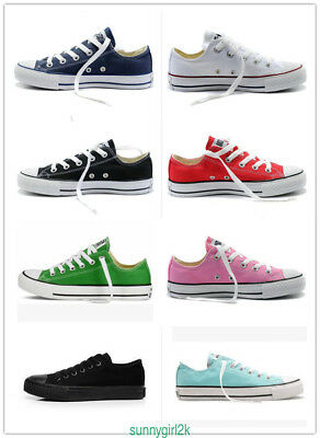 Women&Men ALL STARs Chuck Taylor Ox Low Sneaker High Top casual Canvas shoes AAA