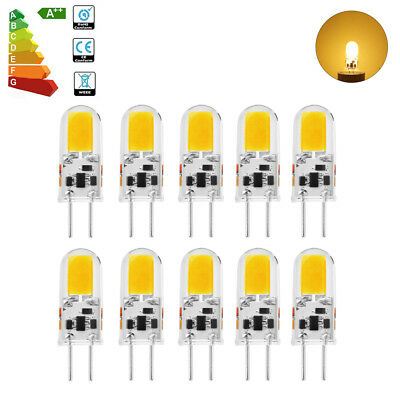 Sunix 4pcs/10pcs 5W GY6.35 COB LED Crystal Bulb AC DC 12V Replace Halogen Light