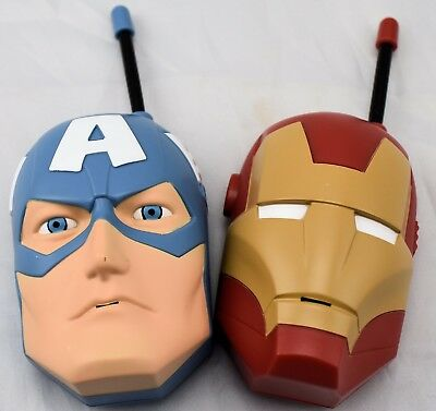 Marvel Avengers Walkie Talkie Iron Man Captain America Spielzeug