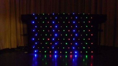 Starlight Dj Multi Colour Led Starcloth Dj Lighting Equipment 4Ft Dj Stand