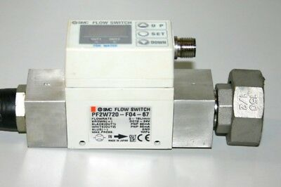 SMC - Flow Switch - Digital Flow Switch - pf2w720-f04-67