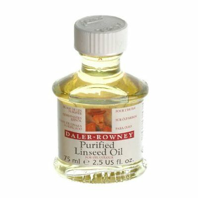 Daler Rowney Purified Linseed for Oil Colours Painting Medium 75ml