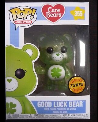 Bisounours - Pop! Care Bears - Good Luck Bear CHASE - Funko