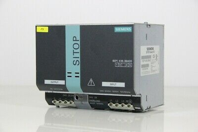 Siemens - Sitop Power 20 - Power Supply 24 Vdc 20 a - 6EP1436-3BA00