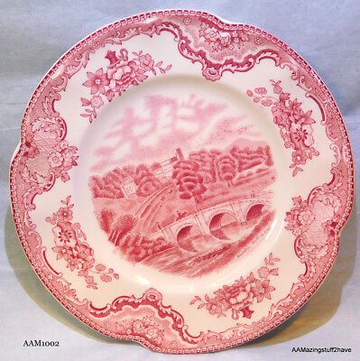 Old Britain Castles Pink Johnson Brothers Bread & Butter Plate FREE SHIPPING