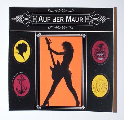 MELISSA AUF DER MAUR STICKER SHEET - hole band