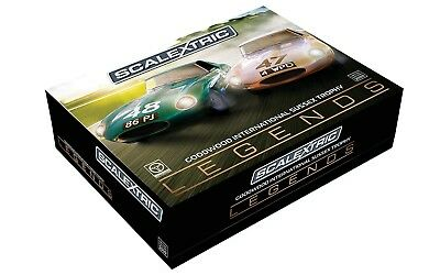 C3898A Scalextric Jaguar E-Type 1963 Classic Car Goodwood Twin Pack 1:32 Scale