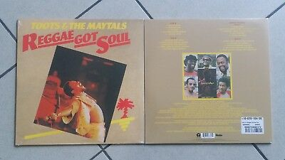 Toots & The Maytals ‎– Reggae Got Soul - (1976) 2-LP Reissue 2016 ss