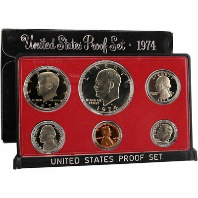1974 S US Mint Proof Set Original Government Packaging
