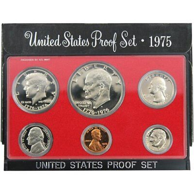 1975 S Proof Set Original Government Packaging