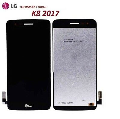 Lcd Display Lg K8 2017 Us215 M210 M200N  Touch Screen Schermo Nero Nuovo