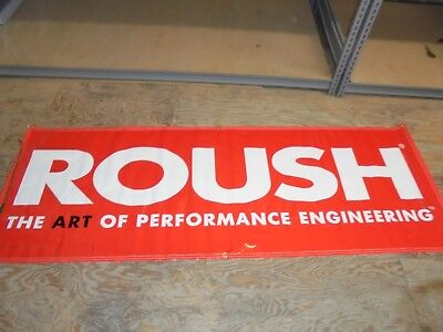 Roush Racing Banner Advertising Decorate Your Garage Or Man Cave