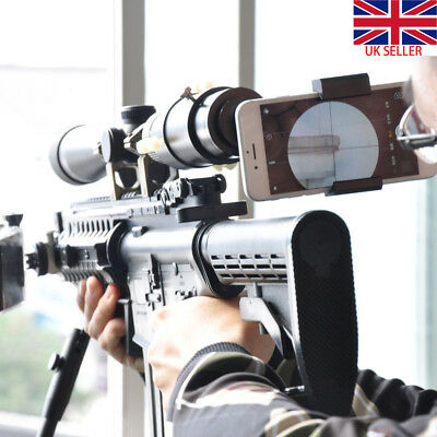 Rifle Scope Mount Best Smartphone Mount System Adapter for Phone Camera  Black