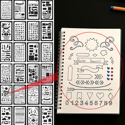 Stencils Scrapbooking Stamp Paper Card Diy Children 12pcs/Pack Multi Style