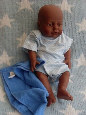 PETERKIN 16 ins NEWBORN ETHNIC BABY BOY DOLL  ANATOMICALLY CORRECT  #25