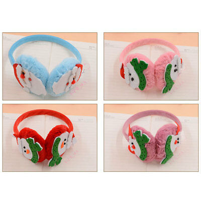 Earmuffs Ear Warmers Cartoon Plush Festival Christmas Baby Protection