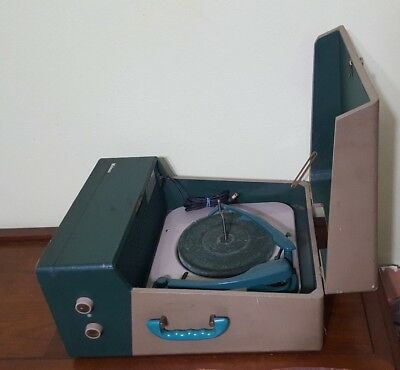 VTG-EARLY-WEBCOR-RECORD-PLAYER-WORKING-C
