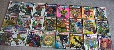 The Complete Judge Dredd : The Law In Order, Issues 1 - 41, Fleetway, 2000AD